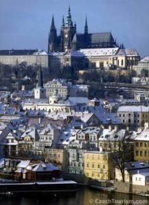 写真クレジット: 大統領府のあるプラハ城 ©CzechTourism.com