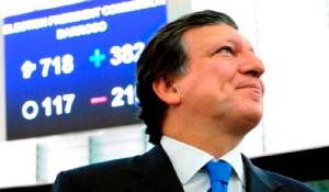 Photo: J. M. Barroso, European Parliament, 2009